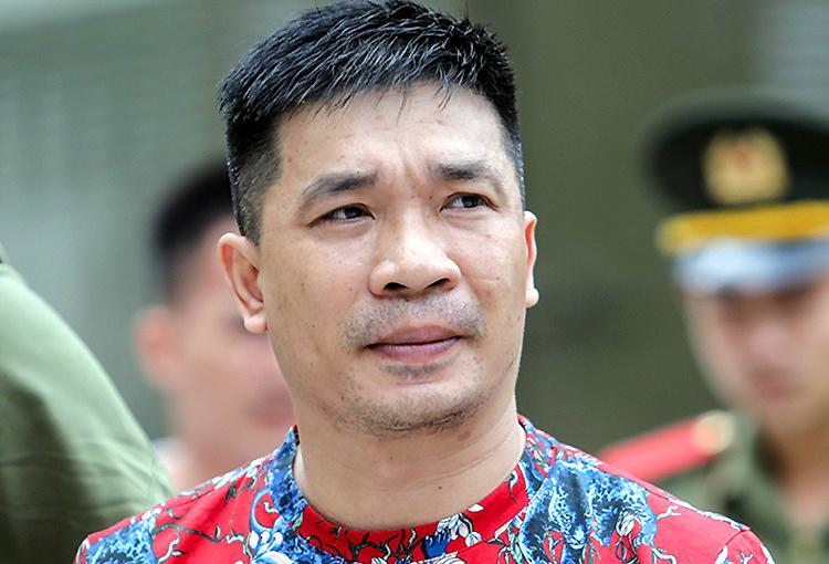 Văn Kính Dương trong lần ra tòa hồi năm ngoái. Ảnh: Thành Nguyễn.