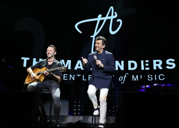 Modern Talking trong lần đến Việt Nam vào tháng 3/2018.