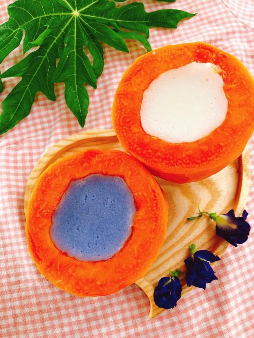 Đu đủ thạch sữa dừa - 1