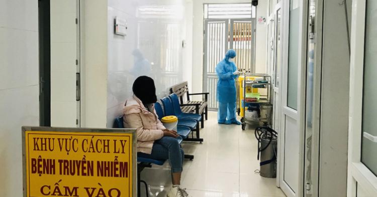 Khoa Bệnh nhiệt đới Bệnh viện Đa khoa tỉnh Thanh Hoá nơi Thu Trang điều trị cách ly suốt 10 ngày. Ảnh: Lam Sơn.