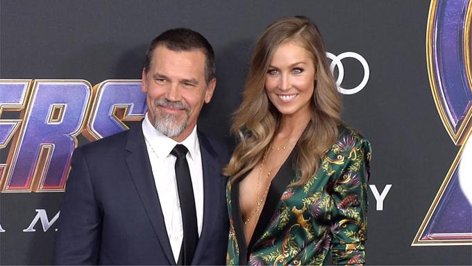 Josh Brolin và bà xã Kathryn Boyd tại lễ ra mắt phim Avengers: Endgame tháng 4/2019.