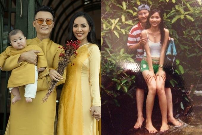 Năm 2003, khi gặp nhau tại Sea Game 22 tổ chức ở Việt Nam, Hoàng Bách là thành viên của nhóm AC&M nổi tiếng, còn Thanh Thảo hoạt động người mẫu tự do. Nam ca sĩ đùa anh bị ấn tượng bởi ngoại hình có phần quê mùa, lúa nhất của vợ trong dàn người mẫu khi đó. Riêng Thanh Thảo cho biết chàng ca sĩ hoàn toàn không nằm trong tiêu chuẩn chọn người yêu của cô: Mẹ em dặn không quen người Bắc, không quen nghệ sĩ trong giới showbiz. Do đó, mãi đến Tết năm 2004, cặp đôi mới nhắn tin thả thính qua lại và quyết định hẹn gặp nhau. Điều khiến Hoàng Bách bất ngờ hơn là khi anh biết mình là mối tình đầu của bà xã. Lần đầu tiên nắm tay cô ấy, em tưởng là khúc gỗ. Ngồi sau xe em, bảo đưa tay thì đưa, bảo ôm thì ôm, như một con robot, Hoàng Bách hài hước chia sẻ.