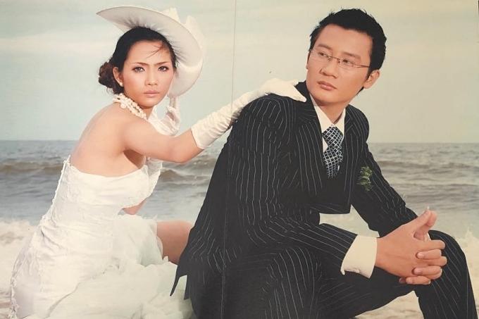 Sau ba năm tìm hiểu, căp đôi nên duyên vợ chồng vào tháng 9/2006.