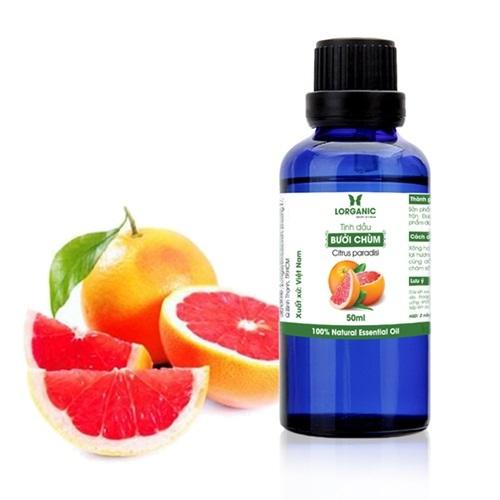 Tinh dầu Lorganic Citrus Paradisi 50 ml chiết xuất từ quả bưởi chùm, qua phương pháp chưng cất hơi nước. Tinh dầu có vàng nhạt, hương thơm dễ chịu. Sản phẩm giảm 38%, còn 180.000 đồng (giá gốc 190.000 đồng) trên Shop VnExpress.