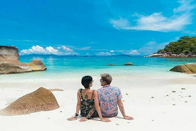 Mỹ nhân thánh giật chồng Thái Lan mê lặn biển - 3