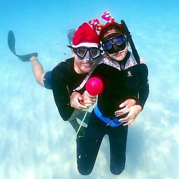 Mỹ nhân thánh giật chồng Thái Lan mê lặn biển - 4