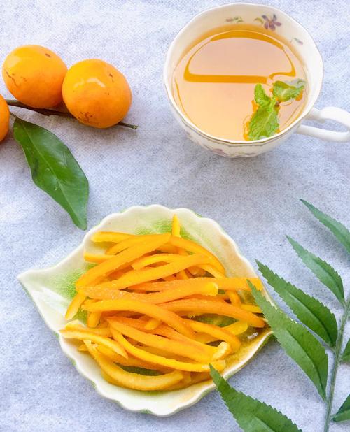 Mứt vỏ cam vàng sấy dẻo - 6