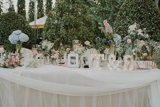 Bộ ảnh được thực hiện bởi decor: July Flowers, wedding planner: Lê Hương Minh Hoài, photo: Nguyễn Thành Luân.