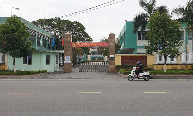Bệnh viện Đa khoa Quảng Nam, nơi bệnh nhân đến nhập viện. Ảnh:Sơn Thủy.