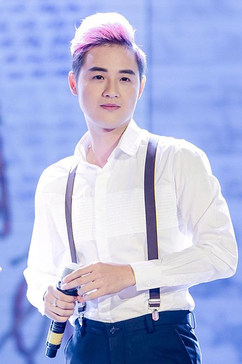 Ca sĩ Thanh Duy.
