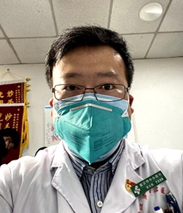 Li Wenliang khi làm bác sĩ nhãn khoa tại Bệnh viện Trung ương Vũ Hán.