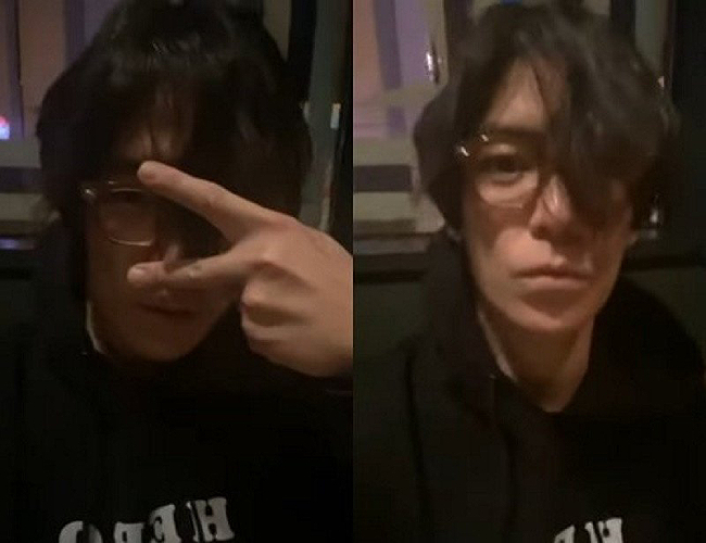 T.O.P của nhóm Big Bang xuất hiện trong bộ dạng kém sắc.