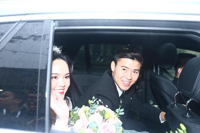 Tối nay, Quỳnh Anh - Duy Mạnh sẽ tiếp tục tổ chức tiệc bên nhà gái tại khách sạn JW Marriot - nơi uyên ương gặp nhau lần đầu tiên.