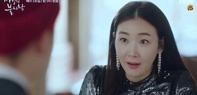 Choi Ji Woo trong một cảnh của Hạ cánh nơi anh tập mới nhất.