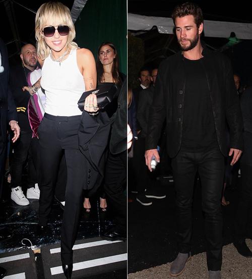 Cặp vợ chồng cũ Miley Cyrus - Liam Hemsworth cùng có mặt tại tiệc WME ở Los Angeles - nơi quy tụ nhiều ngôi sao Hollywood để chào mừng lễ trao giải Oscar 2020. Tuy nhiên, cả hai xuất hiện riêng rẽ.