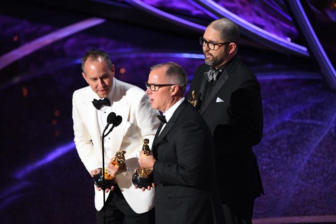 Giải thưởng Phim hoạt hình xuất sắc được trao cho ba nhà làm phim Toy Story 4 Josh Cooley, Mark Nielsen vàJonas Rivera.