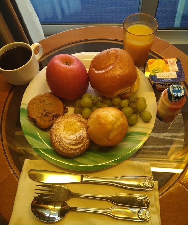 Bữa sáng trên tàu Diamond Princess, ngày 10/2.