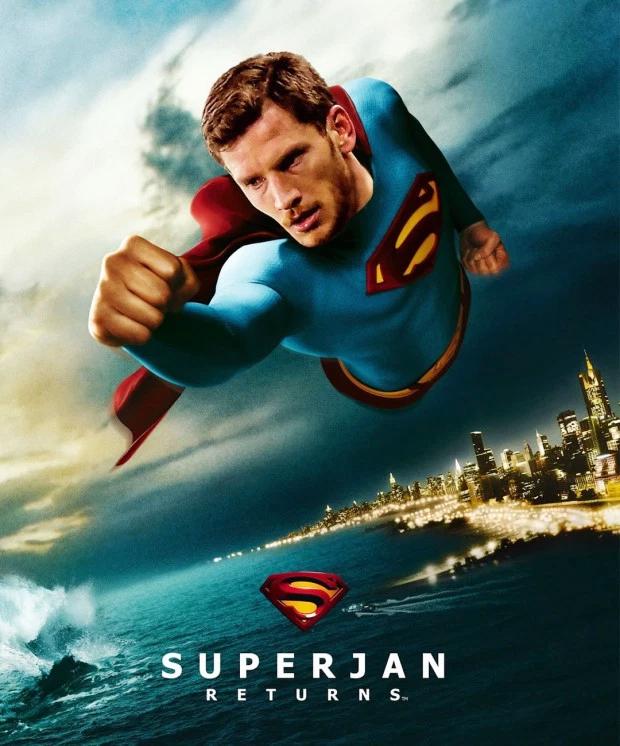 Jan Vertonghen thành Super Jan lấy cảm hứng từ bộ phim Siêu nhân.