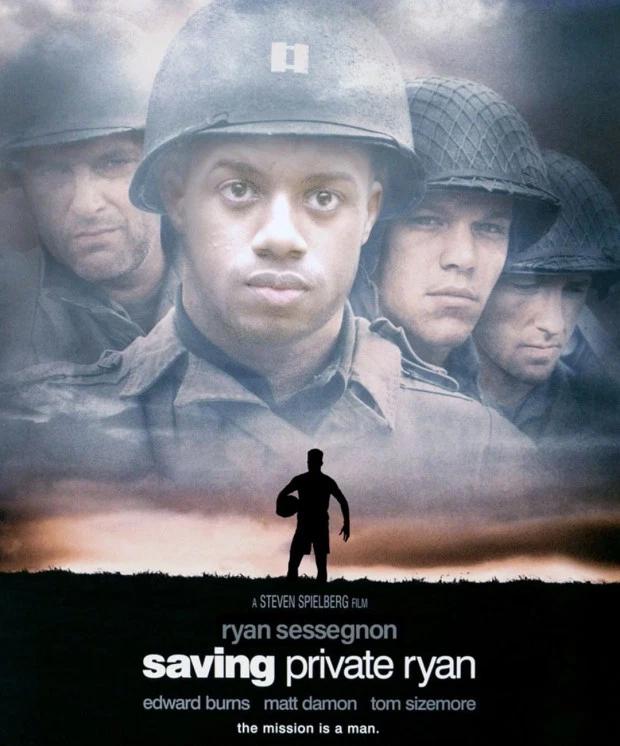 Ryan Sessegnon thành sao trong bộ phim giành giải Oscar1998 Giải cứu binh nhì Ryan.