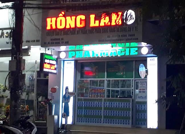 Nhà thuốc Hồng Lan trên đường Bến Nghé. Ảnh: Vạn An