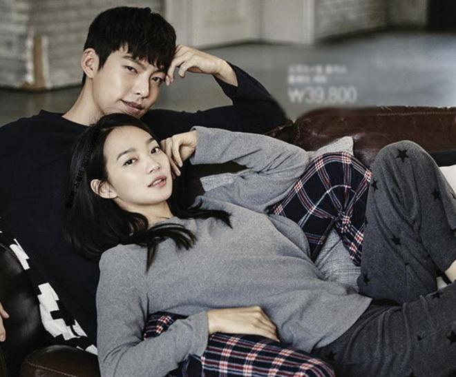 Kim Woo Bin và Shin Min Ah.