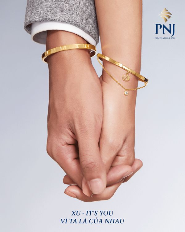 Sản phẩm mới của PNJ hướng đến sự quan tâm chia sẻ giữa các cặp đôi không chỉ trong mùa Valentine mà còn vào những lúc khó khăn.