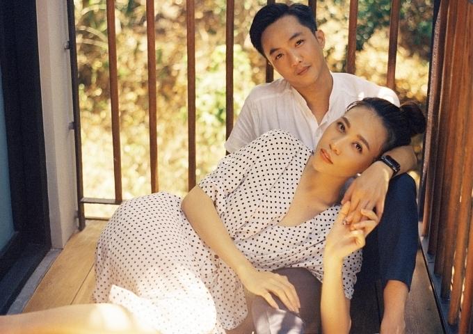 Ảnh cưới của Cường Đôla và Đàm Thu Trang.