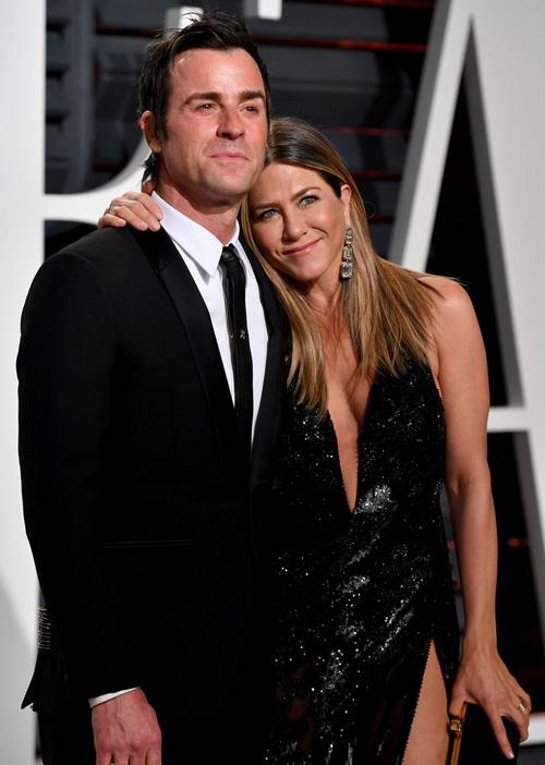 Justin Theroux và Jennifer Aniston gắn bó từ năm 2010 đến 2018.