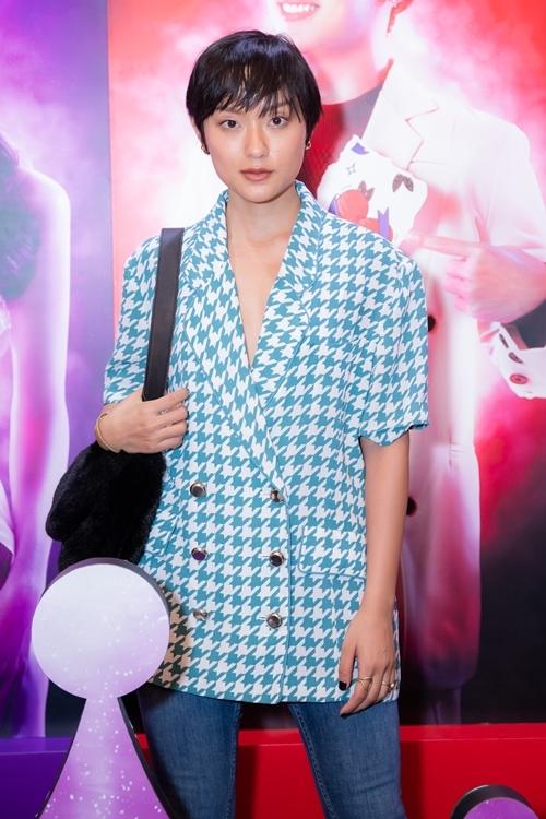 Người mẫu - diễn viên Hồ Thu Anh.