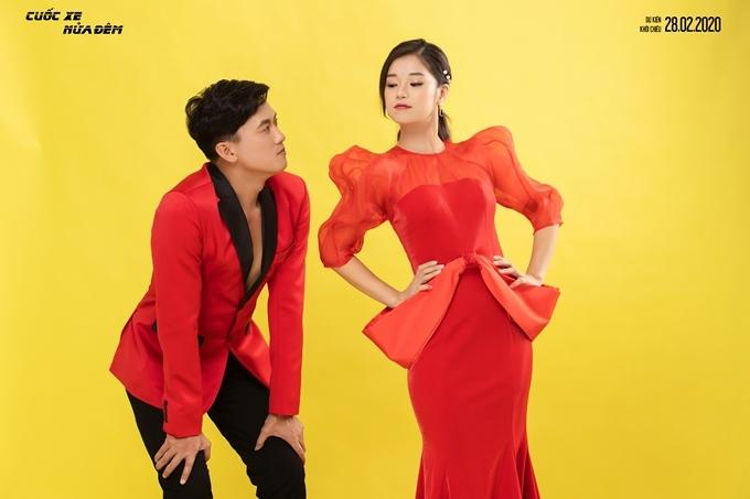 Quách Ngọc Tuyên và Hoàng Yến Chibi tinh nghịch trong bộ ảnh tình nhân.