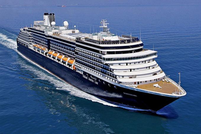 Du thuyền MS Westerdam của hãng Holland America Line. Ảnh: New York Post.