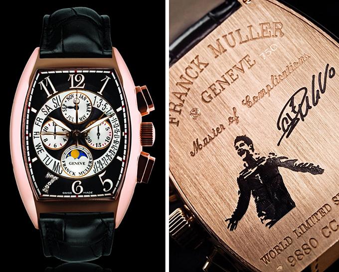 Đồng hồ tiền tỷ của sao - 3