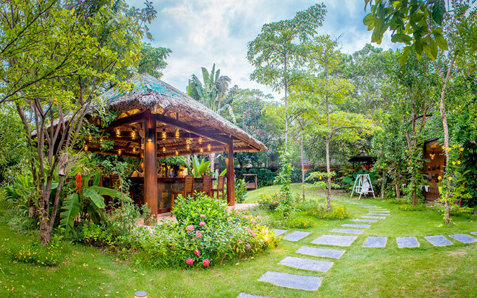 Địa chỉ cuối tuần: hai nhà hàng sân vườn phù hợp gia đình