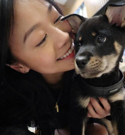 Trên trang cá nhân, Hoàng Tâm Dĩnh tiết lộ đang nuôi vài thú cưng.