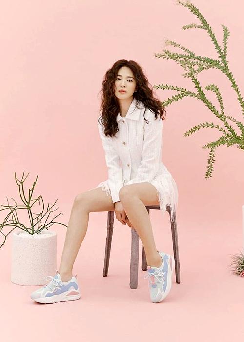 Song Hye Kyo để tóc xù - 1