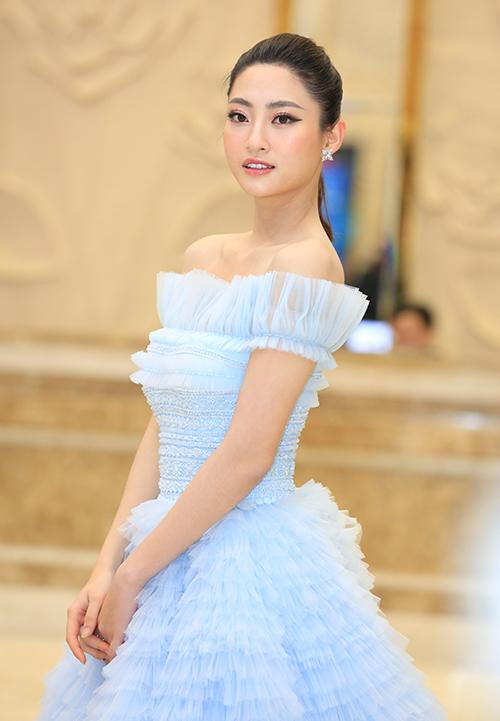 Hoa hậu Thế giới Việt Nam Lương Thuỳ Linh cũng có mặt tại sự kiện.