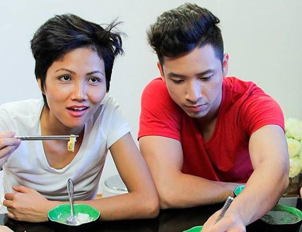 HHen Niê và Anh Vũ thời điểm dự thi