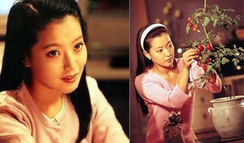 Kim Hee Sun trong vai Lee Ha Ni của phim Tình cờ.