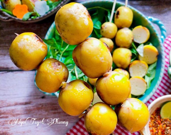 Trứng nướng hồ lô - 3