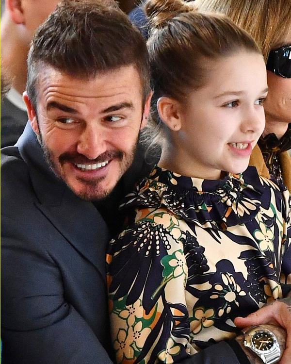 Harper được nhận xét càng lớn càng xinh và tổng hòa các nét đẹp của bố mẹ.