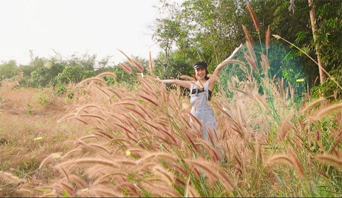 Nữ ca sĩ đầu tư mua đất làm vườn ở huyện Định Quán vì khu vực rộng rãi, thiên nhiên trong lành, phong cảnh hoang sơ, đẹp mắt.