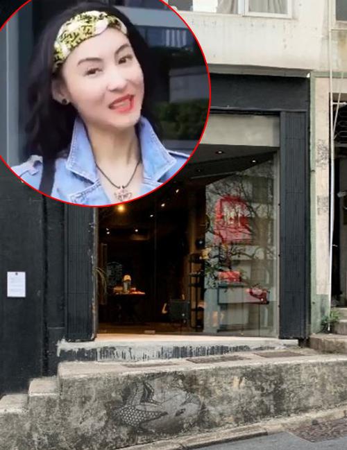 Cửa hàng thời trang của Trương Bá Chi.