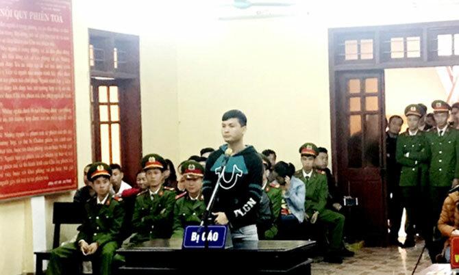 Bị cáo Thắng tại tòa. Ảnh: Trương Minh