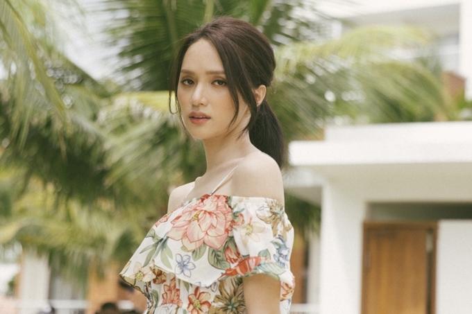 Hương Giang nữ tính trong phim Sắc đẹp dối trá.