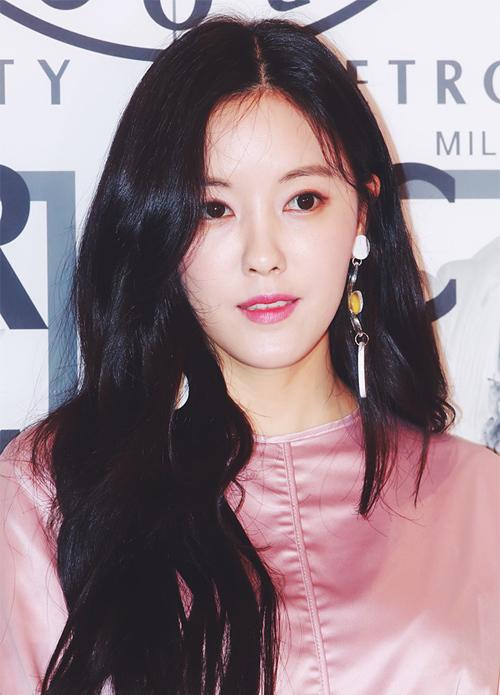 Người đẹp 30 tuổi Hyomin.