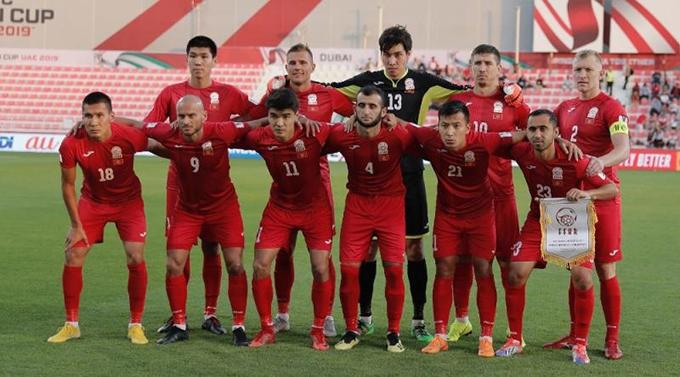Đội tuyển quốc gia Kyrgyzstan. Ảnh: FIFA.