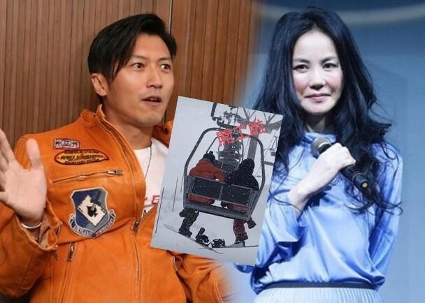 Vương Phi bị đồn cùng Tạ Đình Phong sang Nhật Bản trượt tuyết hồi đầu năm.