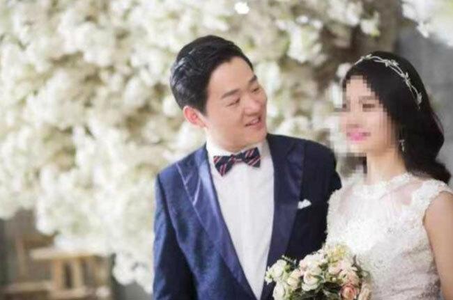 Bác sĩ Bành Ngân Hoa và vợ chưa cưới. Ảnh: China Plus.