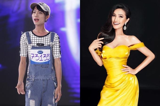 Hoài Sa lột xác từ thời điểm thi Vietnam Idol 2015 đến Hoa hậu Chuyển giới Quốc tế 2020.