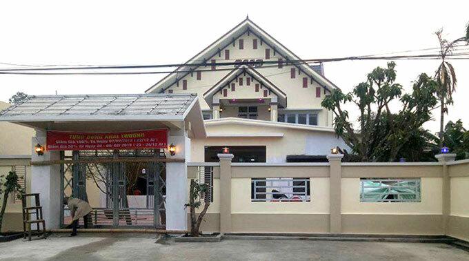 Quán karaoke ở huyện Quảng Xương, nơi xảy ra án mạng.